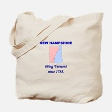 New Hampshire, 69ing Vermont Tote Bag