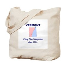 Vermont, 69ing New Hampshire Tote Bag