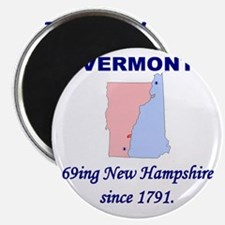 Vermont, 69ing New Hampshire Magnet