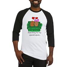 Couch Potato Love Baseball Jersey