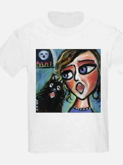 Singing Schipperke  Kids T-Shirt