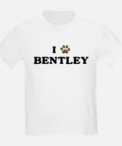 Bentley paw hearts T-Shirt