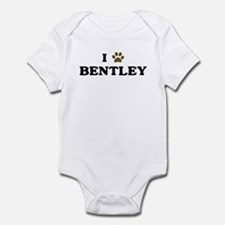 Bentley paw hearts Infant Bodysuit