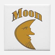 Unique Moon Tile Coaster