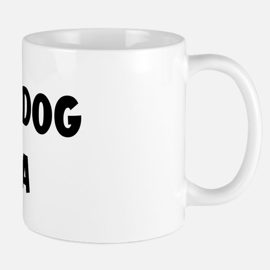 I Love My Dog Bella Mug