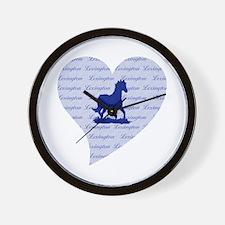 Lexington Kentucky Horse Wall Clock