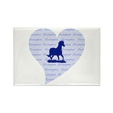Lexington Kentucky Horse Rectangle Magnet