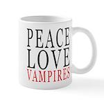 Peace, Love, Vampires Mug