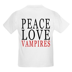Peace, Love, Vampires T-Shirt