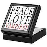 Peace, Love, Vampires Keepsake Box
