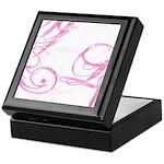 pink swish Keepsake Box