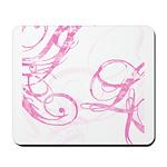 pink swish Mousepad