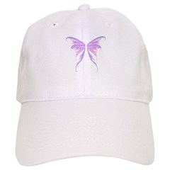 blue/ purple wings Baseball Cap