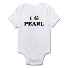Pearl paw hearts Infant Bodysuit