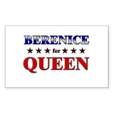 BERENICE for queen Rectangle Decal