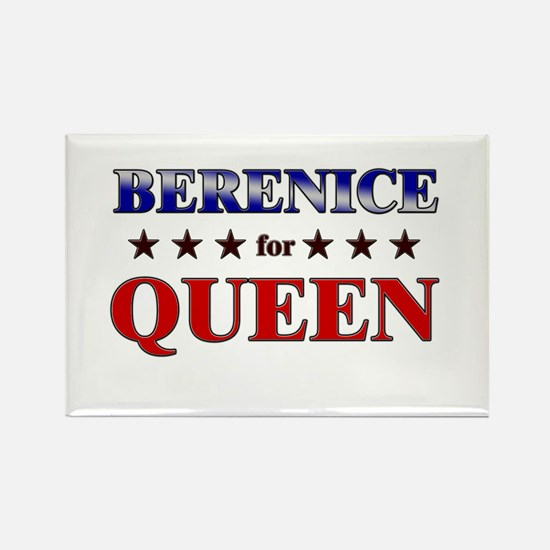 BERENICE for queen Rectangle Magnet