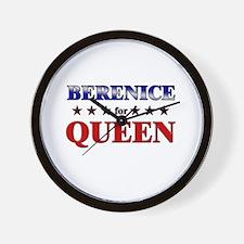 BERENICE for queen Wall Clock