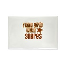 I Like Girls with Snares Rectangle Magnet