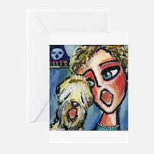 Wheaten sings Greeting Cards (Pk of 10)
