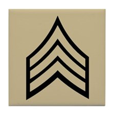 Sergeant<BR> Tile Coaster 2