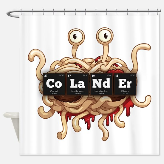 Periodic Elements: CoLaNdEr Shower Curtain