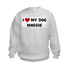 I Love My Dog Maggie Jumpers
