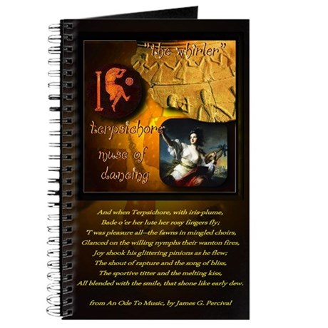 Greek Goddess Terpsichore Journal