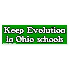 Ohio Evolution Bumper Bumper Sticker