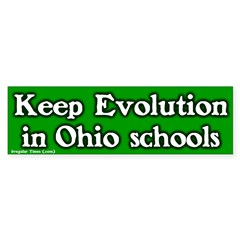 Ohio Evolution Bumper Bumper Sticker