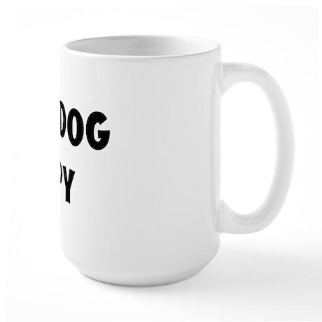 I Love My Dog Snoopy Large Mug