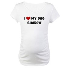 I Love My Dog Shadow Shirt