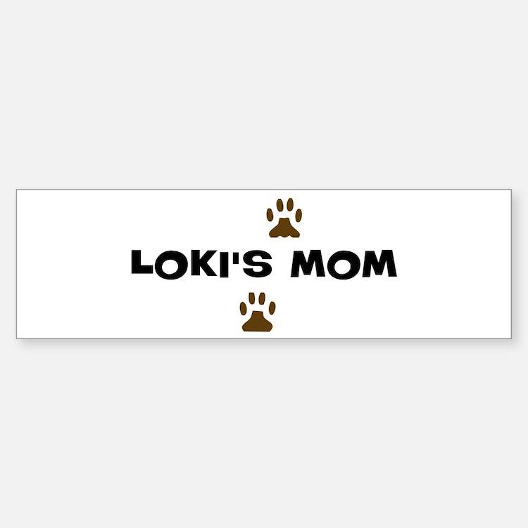 Loki Mom Bumper Bumper Bumper Sticker