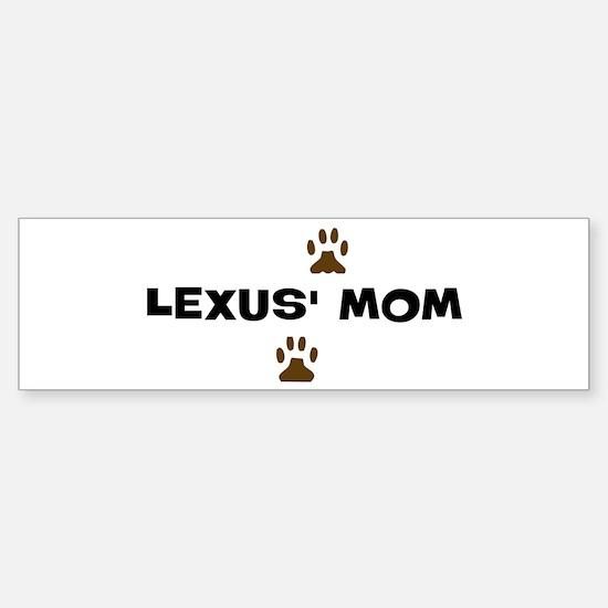 Lexus Mom Bumper Bumper Bumper Sticker