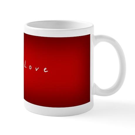 Chinese Red ~ Love Mug