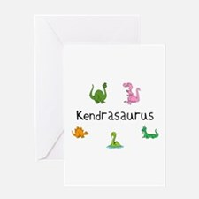 Kendrasaurus Greeting Card