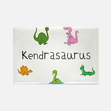 Kendrasaurus Rectangle Magnet