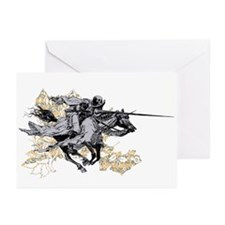 Apocalyptic Horseman Greeting Cards (Pk of 20)