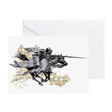 Apocalyptic Horseman Greeting Card