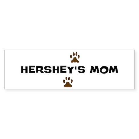 Hershey Mom Bumper Sticker