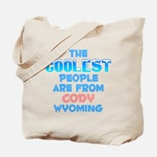 Coolest: Cody, WY Tote Bag