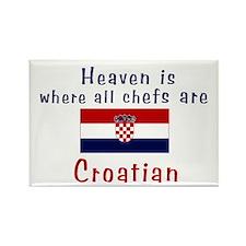 Croatian Chefs Rectangle Magnet