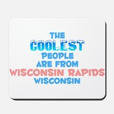 Coolest: Wisconsin Rapi, WI Mousepad