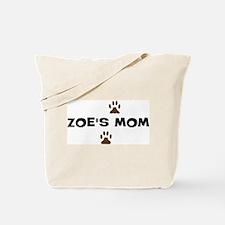 Zoe Mom Tote Bag