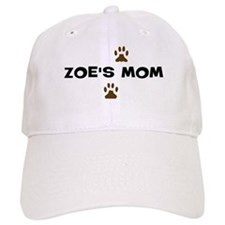 Zoe Mom Baseball Baseball Cap