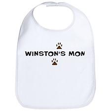 Winston Mom Bib
