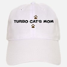 Turbo Cat Mom Baseball Baseball Cap