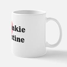 Frankie is my valentine Mug