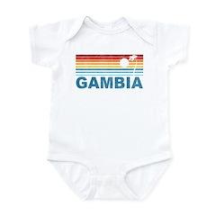 Palm Tree Gambia Infant Bodysuit
