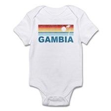Palm Tree Gambia Onesie