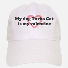 Turbo Cat is my valentine Baseball Baseball Cap